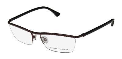 Eyeglass Frame Material - NEW DAVID YURMAN 043 QUALITY MATERIALS TITANIUM EYEGLASS FRAME/EYEWEAR/GLASSES