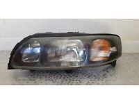 Volvo S60 Headlight 00-04 pre-facelift Passenger side N/S