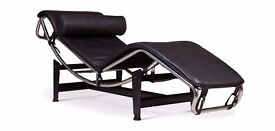 Faux Leather Chaise Long (Lounger)