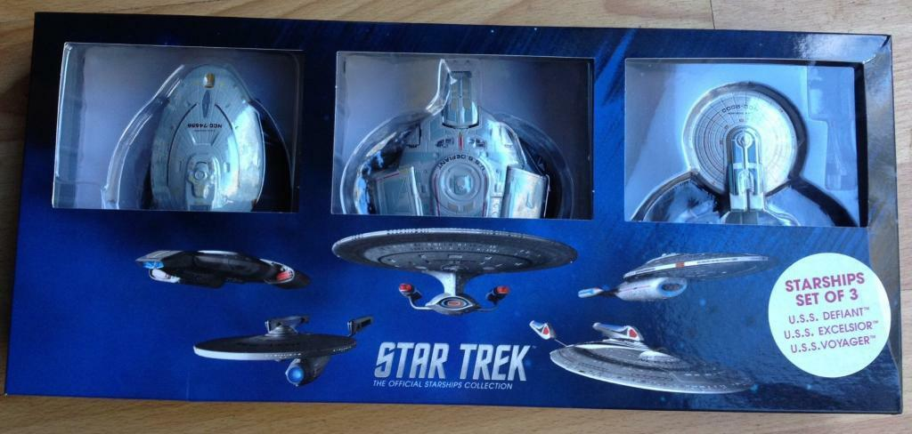 Star Trek Official Starship Collection - Voyager, Excelsoir. Defiant