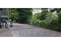 Parking space beside Maze Hill train station available to rent
