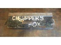 Vintage toolbox for refurbishment