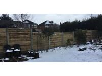 🐛 High Quality Pressure Treated Wooden/ Timber Garden Fence Panels ~ Various Styles & Sizes