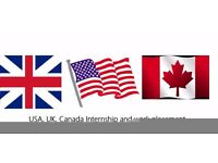 Tier 2 Work permit and Tier5, recent graduate non-EEA students, work placement UK, USA, Canada
