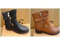 Ladies Ankle Boots Various size's colours Brand new boxed £12