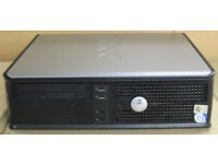 DELL OPTIPLEX 745 DESKTOP PC 2.4GHZ CORE 2 DUO 250GB HDD 4GB RAM