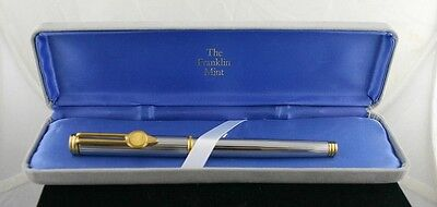 HTF! Waterman Fountain Pen w/ Replica of US $20.00 Liberty Gold Coin on Cap/Clip
