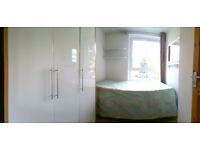 bright and spacious small double room Available NOW! P.S. small pets allowed