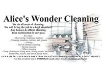 Cleaning services - south Lanarkshire