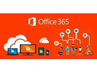 Microsoft Office 365 for Windows & Mac (Download) LifeTime account for 5user/1000+ sold. 32 / 64 bit