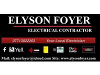 Domestic & Electrician with 17th edition All London areas