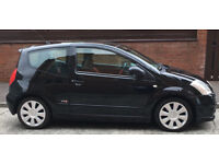 2007 Citroen C2 1.6VTS; 2 Dr Hatchback; 71000 miles; Black; Excellent Condition; Low Insurance Start