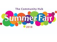 Book your stall at The Community Hub Summer Fair.