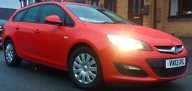 2013 Vauxhall Astra 1.3 diesel 16v ecoflex estate tourer