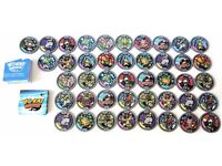Yokai Medals Series 1 x 43 medals NEW