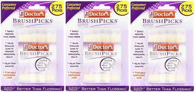 The Doctor's BrushPicks 275 each - 3 Pack = 825 Brushpicks