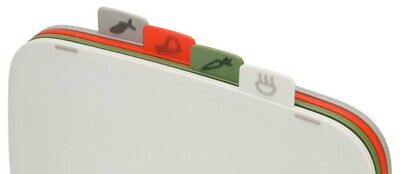 Joseph Joseph Duo 4-Piece Chopping Boards Only - NO STAND Multicoloured