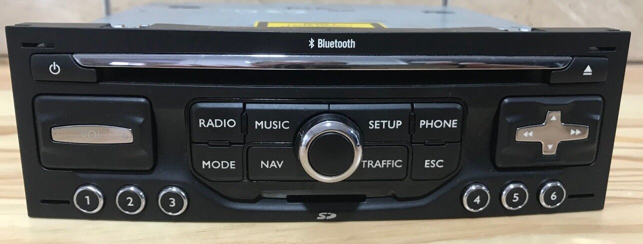 Autoradio CD C4 Picasso 207 308 3008 WIP Nav bluetooth cart SD GPS RNEG1-CEM00