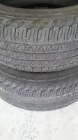 2 tires 245 65 17 used