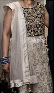 Bridal/Reception Designer Lehenga: Worn Once, Like New