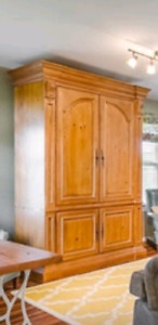 Ethan Allen Tuscany Collection Television Armoire