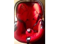 Stokke Car Seat 0+ in Red