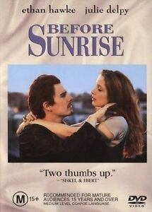 Before Sunrise (DVD, 2003) - New/Sealed