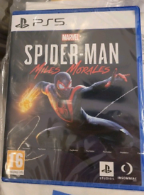 Miles Morales Spiderman PS5 NEW SEALED