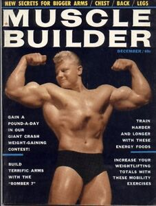 WANTED VINTAGE BODY BUILDING MAGAZINES 50-60'S