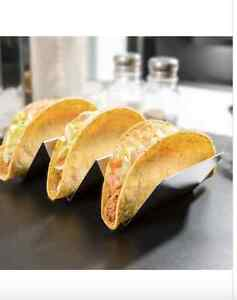Stainless Steel Taco Holder with 2 or 3 Compartments Kitchener / Waterloo Kitchener Area image 1