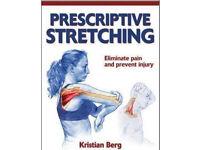 Prescriptive Stretching by Kristian Berg-New Paperback book.
