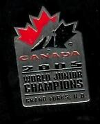 World Hockey Pins