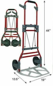 Milwaukee 300-lb Capacity Aluminum Folding Hand Truck -NEW