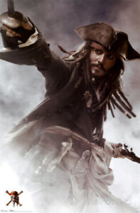 Pirates of the Caribbean Posters- new in wrapping