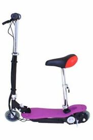 ELECTRIC SCOOTER PURPLE WITH SEAT