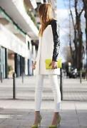 Leather Sleeves Zara Jacket