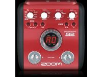 Zoom B2 £60 ONO or trade for electric guitar