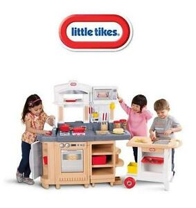 NEW* LITTLE TIKES COOK KITCHEN COOK AROUND KITCHEN AND CART - PLAYSET 106507476