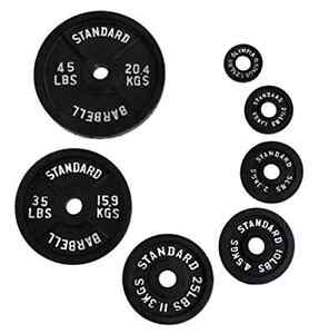 Olympic weight plates (Ader) **sold in pairs**