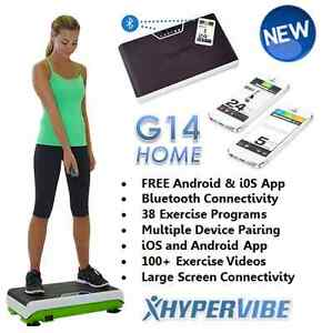 HyperVibe G14 whole body vibration machine Cambridge Kitchener Area image 2
