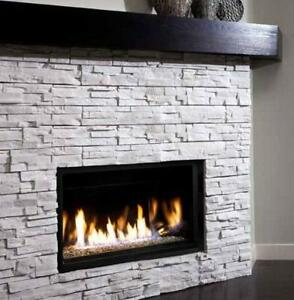 LINEAR BURNER GAS FIREPLACE