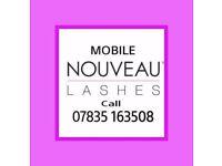 Nouveau eyelash extensions: 07835 163508
