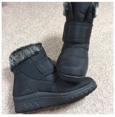 Damart wedge winter boots