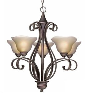 Isadora Oil Rubbed 5-Light Chandelier from Canadian Tire