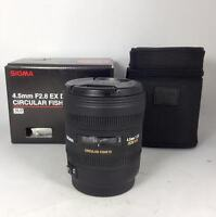 Sigma EX DC circular fisheye 4.5mm f/2.8 new in box