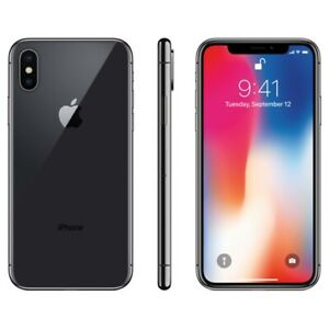 iPhone X Noir/Black 64GB Perfect Condition