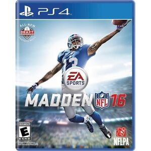 Madden 16 for PS4