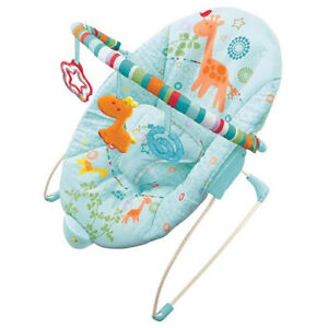 CHAISE VIBRANTE BRIGHT STARS - BABY BOUNCER CHAIR - LIKE NEW