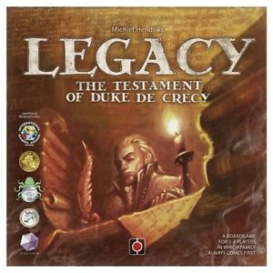 LEGACY Testament of Duke De Crecy Board Game + Expansion ++