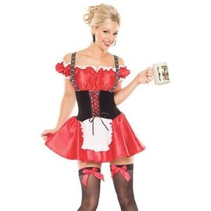 Coquette Bavarian Beer Girl Costume Brand new